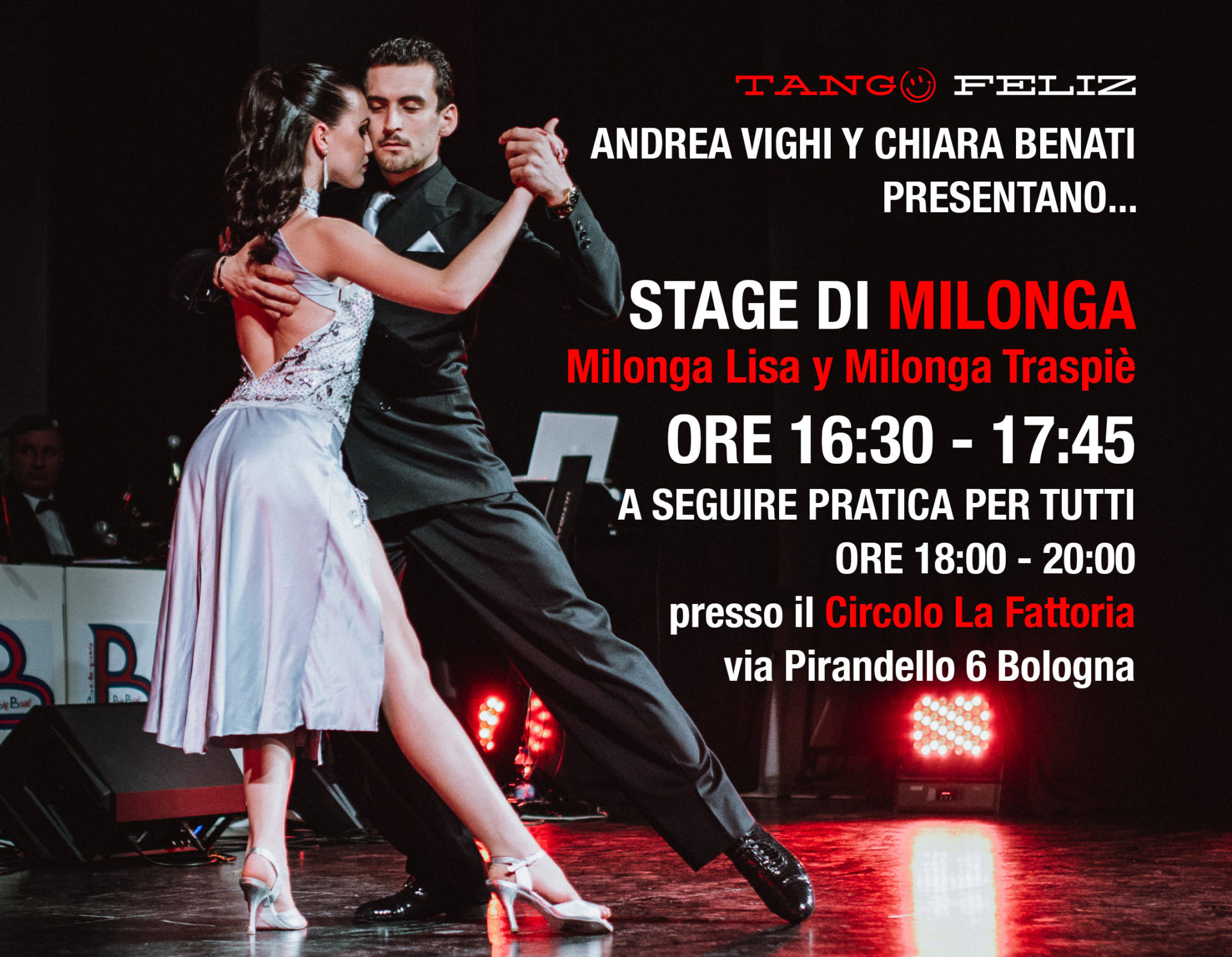 stage milonga domenica 3 dicembre la fattoria tango feliz