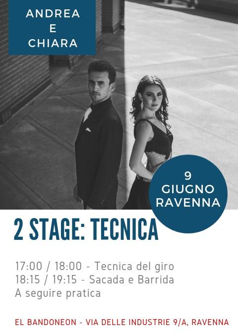 Stage di Tecnica di Tango con Andrea e Chiara